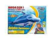 Super Fliers Mega Size Inflatable 5 foot giant inflatable flying Dolphin Swimmer