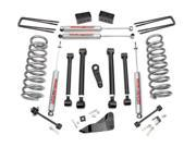 Rough Country 391.24 5-inch X-Series Suspension Lift Kit Dodge Ram 4WD (Gas)