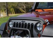 Rugged Ridge 11348.02 Bug Deflector Matte Black 07-14 Jeep Wrangler