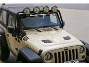 Rugged Ridge 17759.01 Performance Vented Hood 07-14 Jeep Wrangler