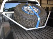 N-Fab Spare Tire Rack