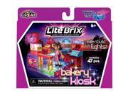 Lite Brix Super Light Building System: Bakery Kiosk
