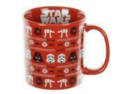 Star Wars Ugly Sweater Holiday Ceramic Mug, 20 oz