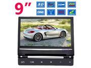 """NEW 9"""" In Car Headrest Monitor DVD Player Game Controller MP3 SD USB FM"""