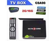 CSA90 4K Octa Core RK3368 Cortex A53 64bit 2G 16G Android 5.1 Lollipop TV Box XBMC KODI Media Player Mini PC Bluetooth WiFi