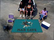 "NHL - San Jose Sharks Man Cave UltiMat Rug 60""x96"""