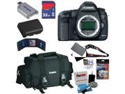 Canon 5D mark iii: EOS 5D Mark III 22.3 MP Full Frame CMOS DSLR Camera (Body) Lens Kit + Canon Gadget Bag + LP-E6 Battery + 32GB Accessory Kits
