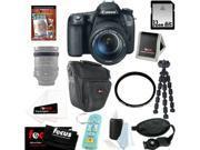 Canon 70d EOS 70D SLR CMOS 20.2MP Digital Camera EFS 18-135mm Lens + 32GB Memory Card + Tiffen 67mm UV Protector + Kit