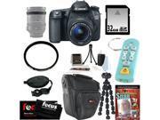 Canon 70d EOS 70D SLR CMOS 20.2MP Digital Camera EFS 18-55mm Lens + 32GB Memory Card + Tiffen 58mm UV Protector + Kit
