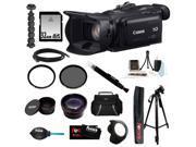 "Canon g30 VIXIA HF G30 Full HD Video Camcorder + 32GB Memory Card + 58mm UV Protector + 58mm Circular Polarizing Lens Filter + 58mm Telephoto Lens + 58mm Wide Angle Lens + Full 59"" Tripod + Acc Kit"