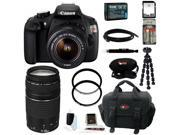 Canon t5 EOS Rebel T5 DSLR Camera with 18-55mm and 75-300mm Lens Bundle and 64GB Deluxe Accessory Kit