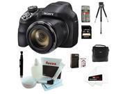 Sony Cyber-shot DSC-H400/B DSCH400 H400 Digital Camera + Sony 16GB SDHC/SDXC Memory Card + Small Gadget Camera Bag + Accessory Kit