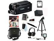 Canon VIXIA HF R52 HD Camcorder + Adobe Photoshop Elements 12 & Premiere Elements 12 (2-Pack- OEM PC/MAC) + 64GB Deluxe Accessory Kit