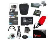 GoPro HERO4 Black with 32GB Deluxe Accessory Kit plus $10 Focus Gift Card