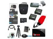 GoPro HERO4 Black with 64GB Deluxe Accessory Kit plus $10 Focus Gift Card