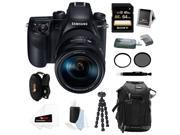 Samsung NX1 28.2 MP Wireless SMART 4K Digital camera w/ 16-50mm Lens and 64GB Accessory Bundle