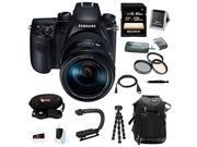 Samsung NX1 28.2 MP Wireless SMART 4K Digital camera w/ 16-50mm Lens and 128GB Accessory Bundle