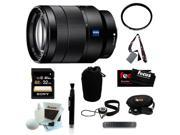 Sony Vario-Tessar SEL-2470Z/B SEL2470Z 2470Z T* FE 24-70mm f/4 ZA OSS Lens + 67mm UV Protector + Focus Lens Cleaning Pen + Focus Micro Fiber Cleaning Cloth + Accessory Kit