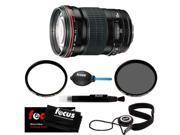 Canon 135/2.0 EF-L USM Lens for Canon SLR Cameras + Tiffen 72mm UV Protector & Polarizing Lens Filter + Accessory Kit