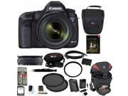 Canon 5D EOS 5D Mark III DSLR Camera Kit with Canon EF 24-70mm f/4L IS USM Lens and 64GB Deluxe Accessory Kit