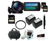 "Sony HDRCX900/B HD Video Camera w/ 1"" sensor + 64GB Accessory Kit"