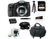 Sony a77 - A77II Digital SLR Camera (Body Only) with 32GB Deluxe Accessory Kit
