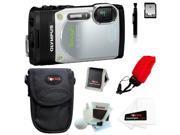 Olympus TG-850 Digital Camera (Silver) with 16GB Accessory Kit