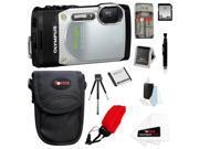 Olympus TG-850 Digital Camera (Silver) with 32GB Accessory Kit