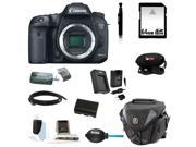 Canon 7d EOS 7D Mark II Digital SLR Camera (Body Only) with 64GB Deluxe Accessory Kit