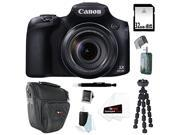 Canon PowerShot SX60 IS Digital Camera with 65x Optical Zoom and Built-in WiFi/ NFC + 32GB Accessory Bundle