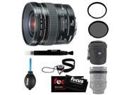 Canon 20/2.8 EF USM Lens + Tiffen 72mm Circular Polarizing Lens Filter + Small Nylon Padded Lens Pouch + Lens Band Stop Zoom Creep (Black) + Accessory Kit