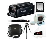 Canon VIXIA HF R500 Digital Camcorder (Black) + 16GB Accessory Kit