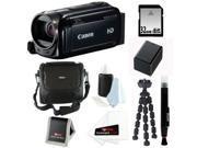 Canon VIXIA HF R500 Digital Camcorder (Black) + 32GB Deluxe Accessory Kit