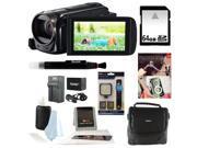 Canon VIXIA HF R500 (Black) + 64GB SD HC Memory Card + Adobe Photoshop Elements 12 & Premiere Elements 12 OEM (2-Pack) Bundle