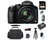 Panasonic Lumix DMC-FZ70 16.1 Megapixel Digital Camera with 16GB Accessory Bundle