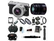Panasonic LUMIX DMC-GM1KS Compact System Camera with 12-32mm Lens and G Series 45-150 Lens + Sony 64GB SDHC + 2 UV Filters + Focus Card Reader + Focus Video Case + Accessory Kit