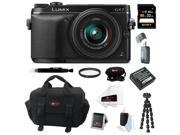 Panasonic LUMIX DMC-GX7KK 16MP Mirrorless Digital Camera with 14-42mm Lens (Black) 32GB Kit