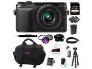 Panasonic LUMIX DMC-GX7KK 16MP Mirrorless Digital Camera with 14-42mm Lens (Black) 64GB Kit