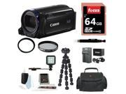 Canon Vixia HF R60 camcorder with 64 GB Deluxe Accessory Kit