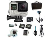 GoPro HERO4 Silver with Wsabi Battery and charger,Sony 32GB SD card and Deluxe Action Bundle