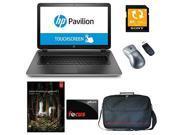 "HP Pavilion 17-f080ca AMD A10, 8GB, 1TB HD, DVD, 17.3"" HD+ LED, BeatsAudio Win 8.1 + Adobe Photoshop Lightroom 5, Notebook Case, Sony 64GB SD Card, Wireless Mouse + Focus $10 Gift Card"
