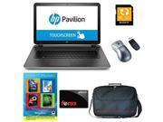 "HP Pavilion 17-f080ca AMD A10, 8GB, 1TB HD, DVD, 17.3"" HD+ LED, BeatsAudio Win 8.1 + Corel PC Office Suite 4 , 17.6"" Case, Sony 32GB SD Card, Wireless Mouse + Focus $10 Gift Card"