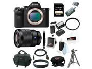 Sony Alpha a7II Digital Camera Body and Sony 16-35mm Wide Angle Zoom Lens with 64GB Deluxe Accessory Bundle