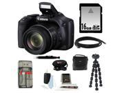 Canon PowerShot SX530 IS Digital Camera with 16GB Deluxe Accessory Kit