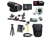 Replay XD Prime X 1080P WiFi Action Camera with Action Pro Series All in 1 Helmet Kit and 32GB Deluxe Accessory Kit