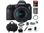Canon 6D: EOS 6D 20.2MP Digital Camera with EF 24-105mm IS STM lens & 64GB Deluxe Accessory Kit