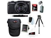 Canon SX710 Powershot HS 20.3MP Digital Camera with 16GB Accessory Bundle