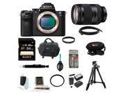 Sony Alpha a7II Body Only With 64GB Deluxe Accessory Bundle