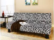 Modern klik klak with animal print fabric.