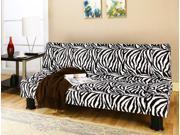 Klik Klak Sofa Sleeper with Animal Print Fabric